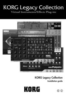 Korg Legacy Collection free
