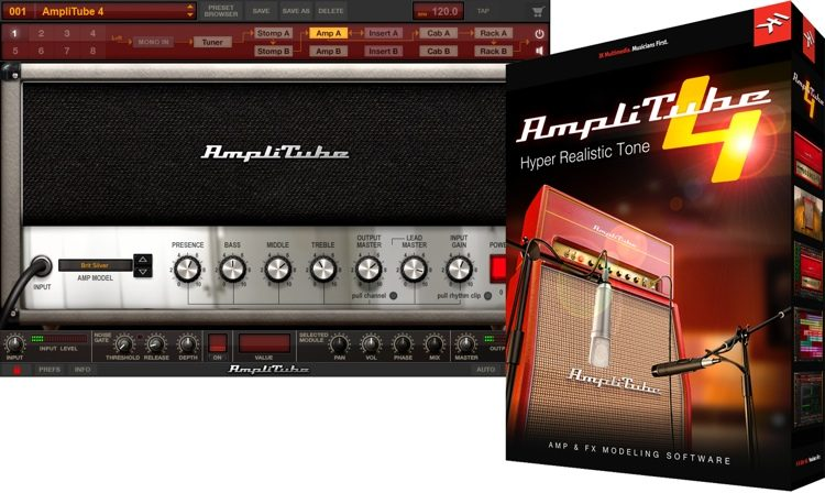 IK Multimedia AmpliTube 4 Complete v4.10.0B Crack Free Download