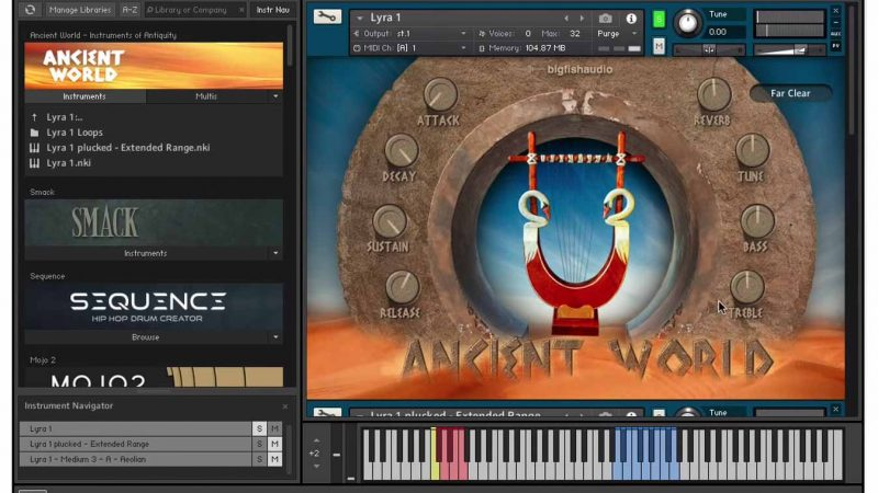 Big Fish Audio Ancient World Instruments of Antiquity (Kontakt) Crack