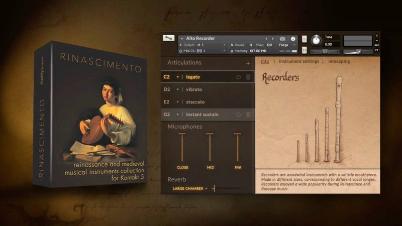 FluffyAudio Rinascimento (Kontakt) With Crack Free Download