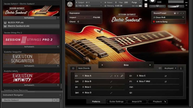 Electric Sunburst Kontakt Crack Full Version 2021 Free Download
