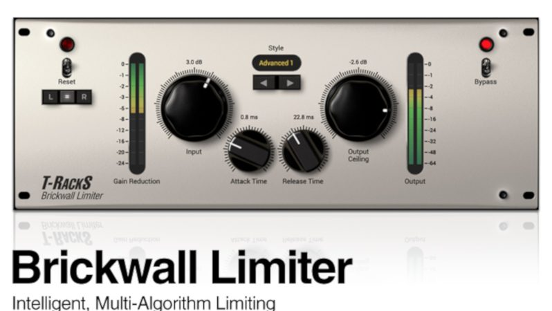 T-RackS Brickwall Limiter v5.3.2 Crack Full Version Free Download
