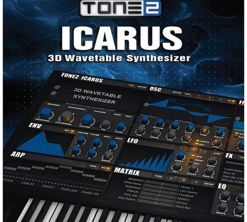 Tone2 Icarus v1.6.0 Crack for Windows Version Free Download