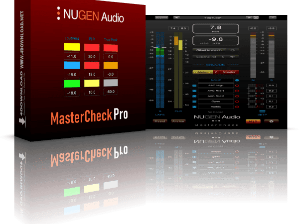 NUGEN Audio MasterCheck Pro v1.7.0.1 + Vst Crack Free Download