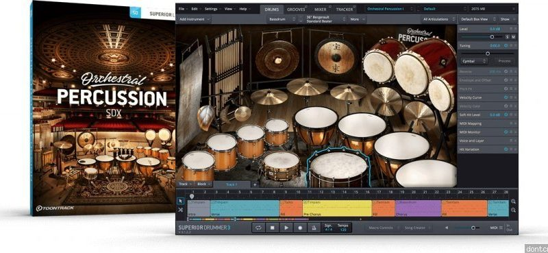Orchestral Percussion SDX Vst Crack Mac & Win Free Download