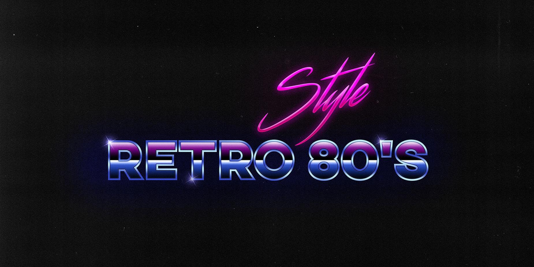 Retro 80's Bundle