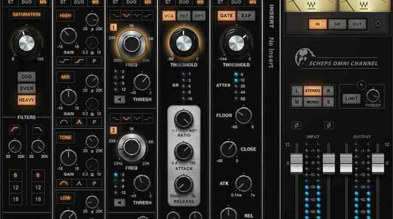 Scheps Omni Channel Crack + VST Mac & Win Free Download