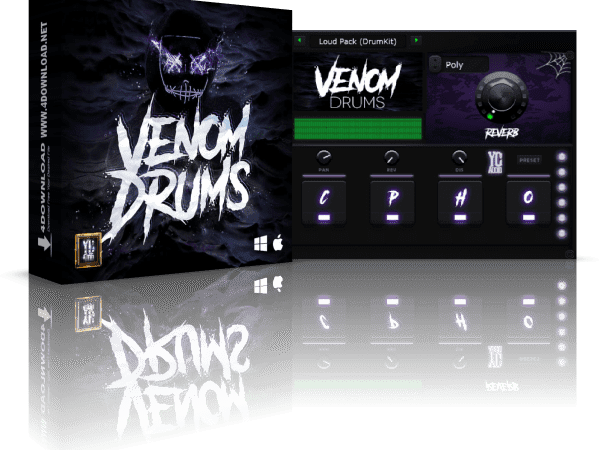 YC Audio Venom Drums 21.06.2020 Crack Mac & Win Free Download