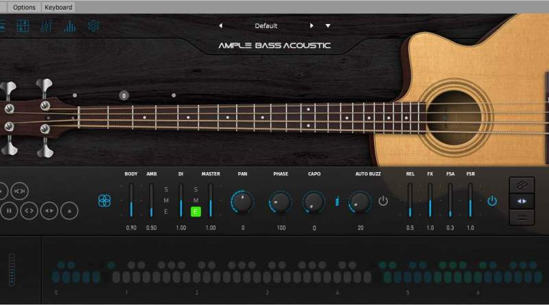 Bass Acoustic III v3.3.0 Crack Free Ample Sound Mac/Windows