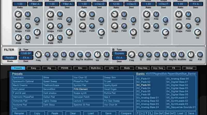 Rob Papen Blue 2 Crack Full Version VST Free Download 2020