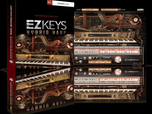 Toontrack EZkeys Hybrid Harp v1.0.1 Full Version Free Download