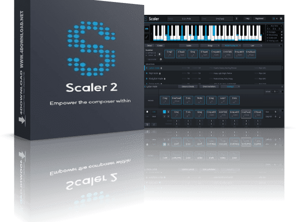 Plugin Boutique Scaler 2 v2.2.0 Crack Full Version 2021 Free Download
